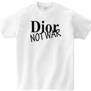 Dior Not War Shirt